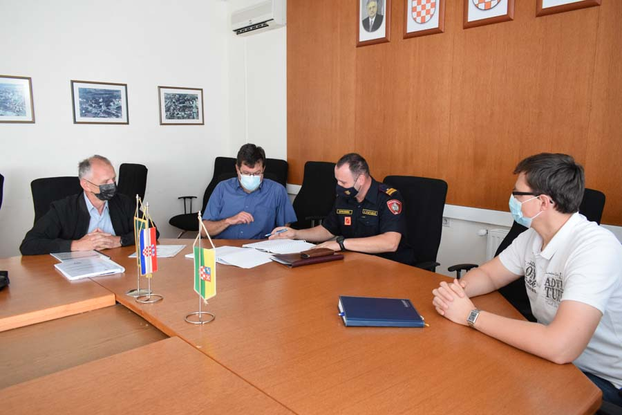 Izrađena revizija Procjene ugroženosti od požara i tehnološke eksplozije i Plana zaštite od požara za područje grada
