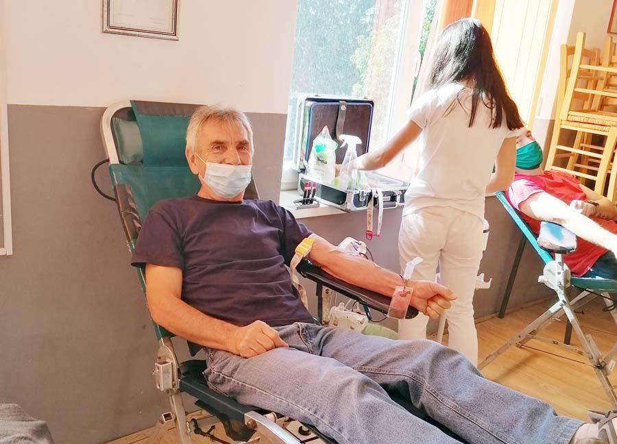 Provedena četvrta ovogodišnja akcija dobrovoljnog darivanja krvi