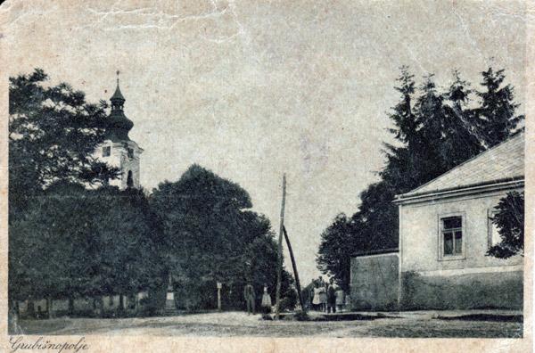 Pogled na središte grada s crkvom
